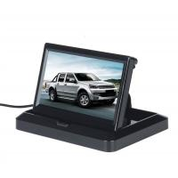 Wholesale 5'' Foldable Car Rear View Monitor Compact Structure Easy Installation from china suppliers