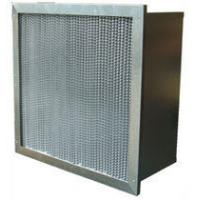 Wholesale Washable High Temp Mini Pleat Hepa Air Filter High Efficiency With Pleated / Clapboard from china suppliers