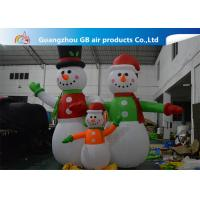 Wholesale Giant Inflatable Snowman Blow up Christmas Santa Claus Yard Decoratoin from china suppliers