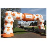 Wholesale Durable Inflatable Advertising Products / Inflatable Entrance Arch Welcome Gate Race Display Sport Arch from china suppliers