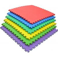Wholesale 2cm Non Toxic Play Mat / Soft EVA Interlocking Foam Floor Mats Color Customized from china suppliers
