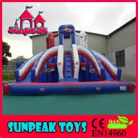 Buy cheap WL-1865 Summer Use Cool Water Slide,Inflatable Water Park Slides For Sale from wholesalers