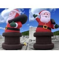 Wholesale Big Festival Inflatable Christmas Decorations Door Weather - Resistant from china suppliers