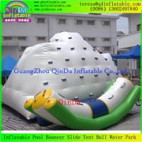 Buy cheap Commercial Grade Climbing Mountain Climbing Tower Inflatable Water Icebergs from wholesalers