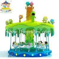 Wholesale 16/24 seats carousel! mini fairground rides small carousel for sale from china suppliers