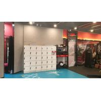Wholesale White Storage Locker For School , 4 Tier Plastic Gym Lockers With Software from china suppliers
