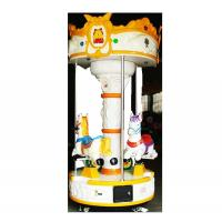 Wholesale High quality Indoor ride 3 mini seats carousel ride for sale from china suppliers