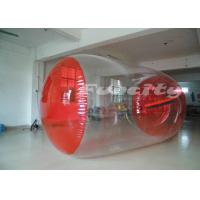 China PVC Inflatable Walk On Water Ball Roller With 0.8mm - 1.0mm Thickness on sale