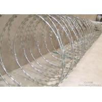 China Concertina Razor Welded Wire Mesh Square / Hexagonal Hole Customized Width on sale
