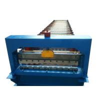 Wholesale 760 3kw Roller Shutter Door Roll Forming Machine With 17 Rows Of Rollers and 3ke hydraulic power from china suppliers