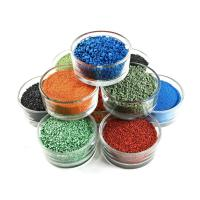 Wholesale Running Track Use Colored Rubber Granules With High WeatherStability from china suppliers