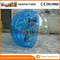 China 100% TPU Clear Inflatable Zorb Ball / Inflatable Water Walking Ball For Park on sale