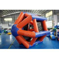Wholesale 0.9mm PVC Tarpaulin Colorful Inflatable Water Roller  For Water Games from china suppliers