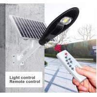 Wholesale Smart Control Solar Powered LED Street Lights 3000 - 6500K CCT Easy Install from china suppliers
