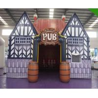 Wholesale Commercial Airtight Inflatable Air Tent / Blow Up Pub Moving House 8mL X 5.5mW X 5.5mH from china suppliers