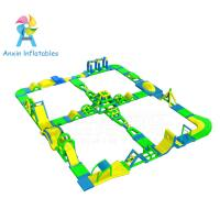 Buy cheap New Adults Lake Inflatable Water Park On Water, Open Sea Floating Water Obstacle from wholesalers