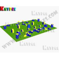 Wholesale 7 Man Standard PRO Packag,Inflatable paintball Bunker filed, paintball arena KPB017 from china suppliers