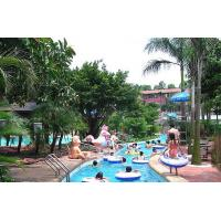 Wholesale Amusement Water Park Lazy River / Outdoor Entertainment Playground For Relax from china suppliers