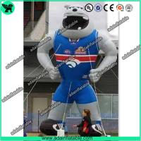 Wholesale Sports Advertising Inflatable Animal,Sports Event Inflatable Cartoon,Inflatable Bull Dog from china suppliers