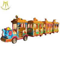 Wholesale Hansel shopping mall electric amusement park trackless train rides for family from china suppliers
