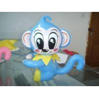 Wholesale Monkey Blue Inflatable Air Dancers  ,  Durable Inflatable Animal Show from china suppliers