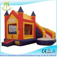 Quality Hansel popular car kids jumping castle for entertainment for sale