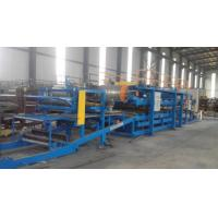 Wholesale 32KW Sandwich Panel Roll Forming Machine With 0 - 3.8m / Min Working Speed from china suppliers