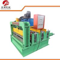 Wholesale PPGI Curving Roofing Sheet Crimping Machine , Hydraulic Sheet Bending Machine from china suppliers