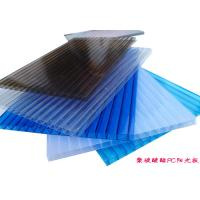 Wholesale OEM Fireproof Polycarbonate Hollow Sheet PC Sun Sheet For Roof Greenhouse from china suppliers