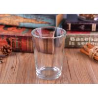 Quality 20OZ Drinking Glass Candle Holder For Juice , Colored Glass Tumblers for sale