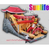 Wholesale hot sell inflatable jumper slide combo com043 from china suppliers