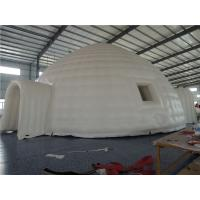 China White Mobile Inflatable Party Tent Personalized Logo For Medical Promotion Activity on sale