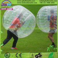 Wholesale Guangzhou QinDa Inflatable bubble soccer ball inflatable bumper ball from china suppliers