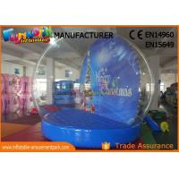 Wholesale Indoor 2.5m ~ 5m Christmas Santa Snow Globe Inflatable With 1 Year Warranty from china suppliers
