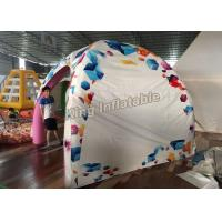 China New Design 3*3m Airtight Inflatable Spider Tent For Advertising Or Event on sale