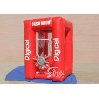 Wholesale Crazy Funny Cash Cube Inflatable Money Grab Booth For Indoor N Outdoor Activities from china suppliers
