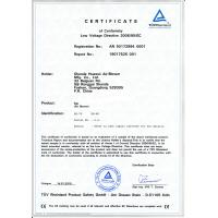 Guangzhou Yuhong Inflatable Products Co.,Ltd Certifications
