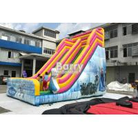 Wholesale Outdoor Inflatable Dry Slide For Kids / Commerical Slide With Princess from china suppliers