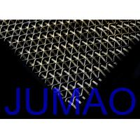 Wholesale Stainless Steel Waved Architectural Metal Fabric For Exterior Wall Facades from china suppliers