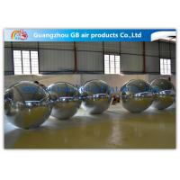 China Mirror Ball Silver Giant Inflatable Holiday Decorations For Promoting Custom Made on sale
