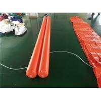 PVC Tarpaulin Inflatable Water Toys , Inflatable Pipe For Water Aqua Park