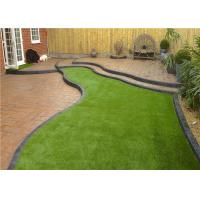 Wholesale Safety Residential Realistic Fake Grass , 3 / 16 Inch Outdoor Turf Carpet from china suppliers