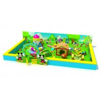 Without Galvanized Steel Pole Toddler Indoor Play Equipment KP190920 Green Color