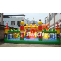 Wholesale Disney Lene Inflatable Fun City / Inflatable Bouncer Paradise With Lovely Animal from china suppliers