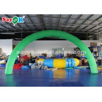 Buy cheap Green Color Outdoor and Indoor Inflatable Entrance Arch for Advertising from wholesalers