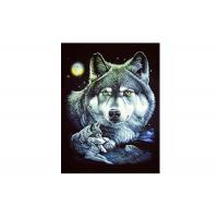 Buy cheap 30x40cm Cool Wolves 3D Lenticular Poster For Gifts And Home Decoration from wholesalers