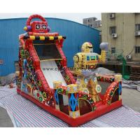Wholesale Commercial Inflatable Dry Slide Red Inflatable Slip Slide Adult Inflatable Slide from china suppliers