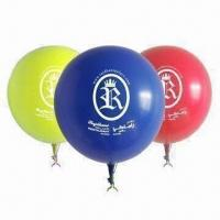 Wholesale Advertising Balloons, Available from 10 to 12 Inches Sizes, with Printed Logo from china suppliers