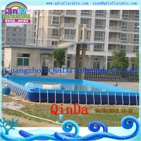 Wholesale Guangzhou QinDa Above Ground Pool PVC Frame Pool from china suppliers