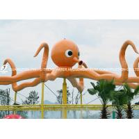 Wholesale Customized Outdoor Octopus Spray For Aqua Play Water Park Items Fiberglass Equipment from china suppliers